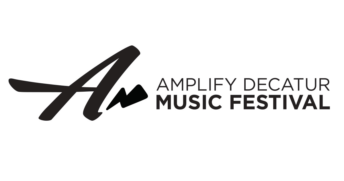 Amplify Decatur Music Festival logo