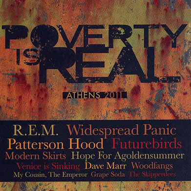 Poverty Is Real Athens 2011, Various Artists, 2011