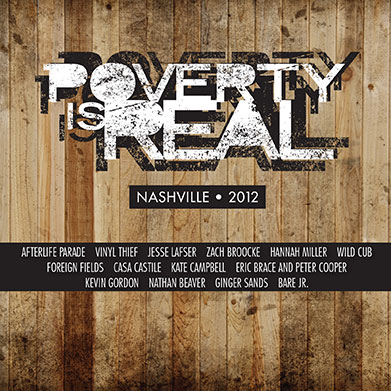 Poverty Is Real Nashville 2012, Various Artists, 2012