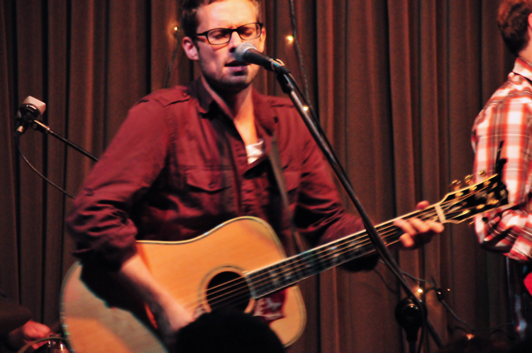 Nathan Beaver performing