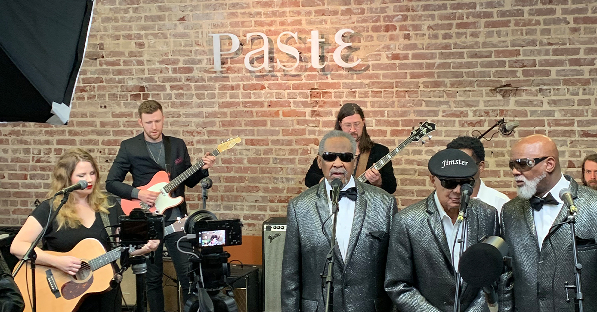 Paste Studio with Kristen Englenz and Blind Boys of Alabama